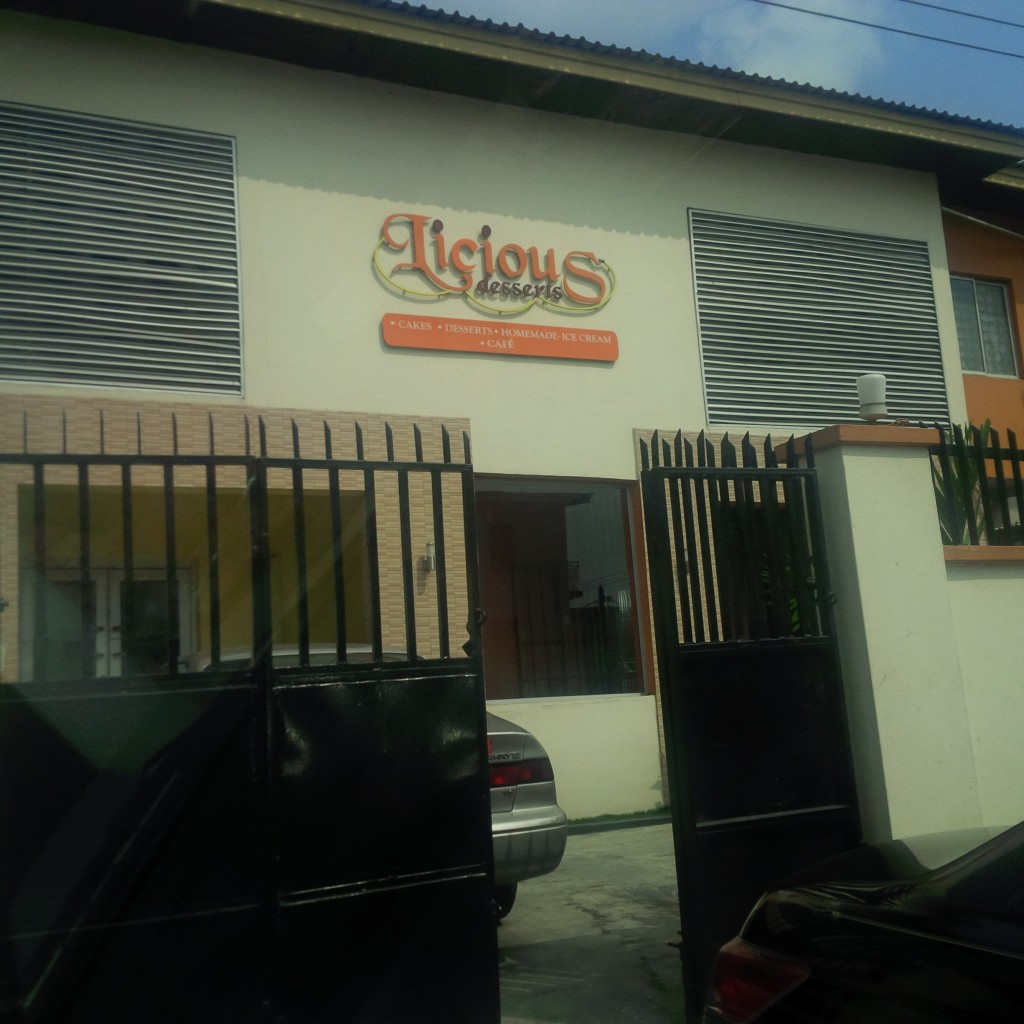 Licious Desserts 60, Allen Avenue by First Bank B/Stop Entrance by Adebayo Solanke